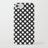 polka dots iPhone & iPod Cases featuring Polka Dots by Kings in Plaid