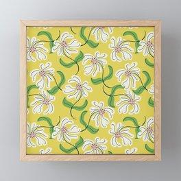Sunshine Flowers Framed Mini Art Print