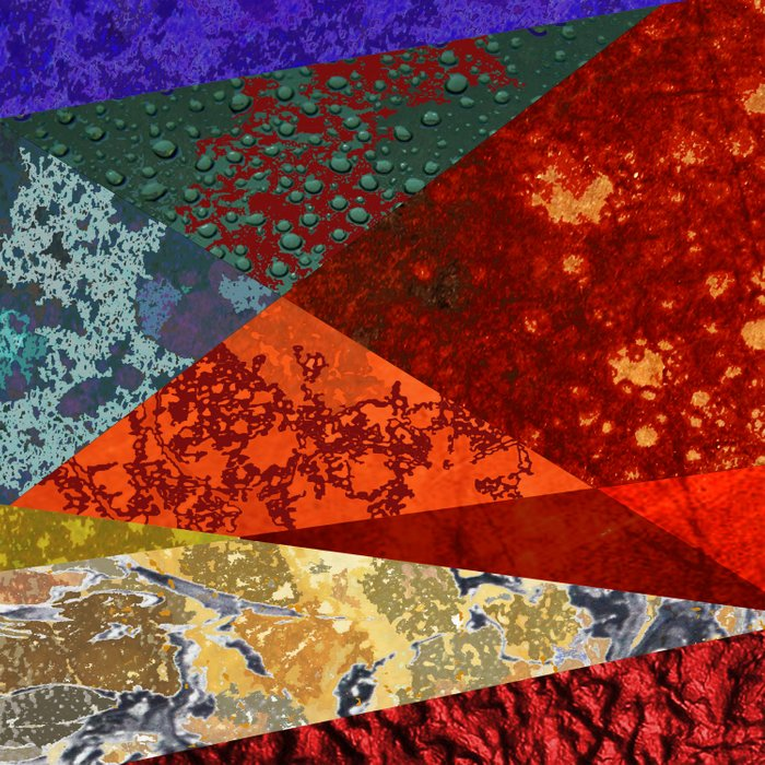 Abstract #300 Oxidation Duvet Cover