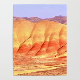 PAINTED HILLS - OREGON Poster