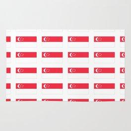 Flag of singapore-singapore,新加坡,Singapura,Ciṅkappūr,Singaporean Rug