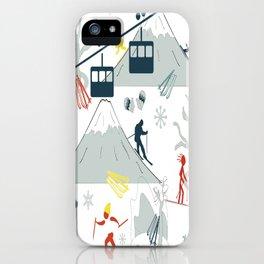 SKI LIFTS iPhone Case