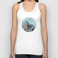 mountain Tank Tops featuring Mountain by madbiffymorghulis
