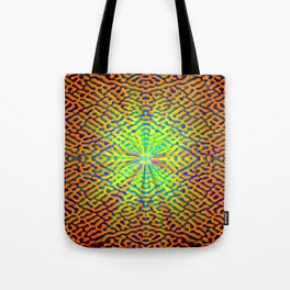 Pattern of hope's light ... Tote Bag