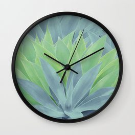 Agave Ocean Dream #1 #tropical #decor #art #society6 Wall Clock