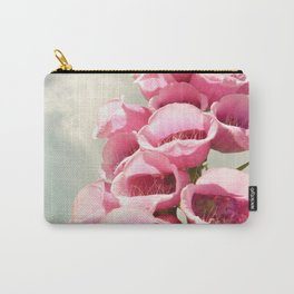 Foxgloves Washington Northwest Forest Carry-All Pouch