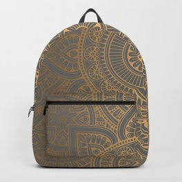 Gold Mandala 4 Backpack