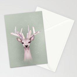 Crystal Deer Stationery Cards