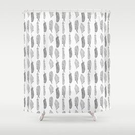 Birds of a Feather III Shower Curtain