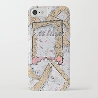cookie iPhone & iPod Cases featuring Cookie by Kris alan apparel
