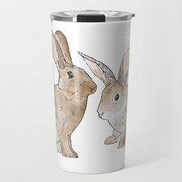 Rabbit Rabbit Travel Mug