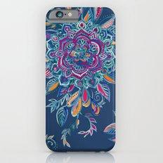 Deep Summer - Watercolor Floral Medallion iPhone 6 Slim Case