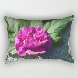 A rose and a leaf  Rectangular Pillow