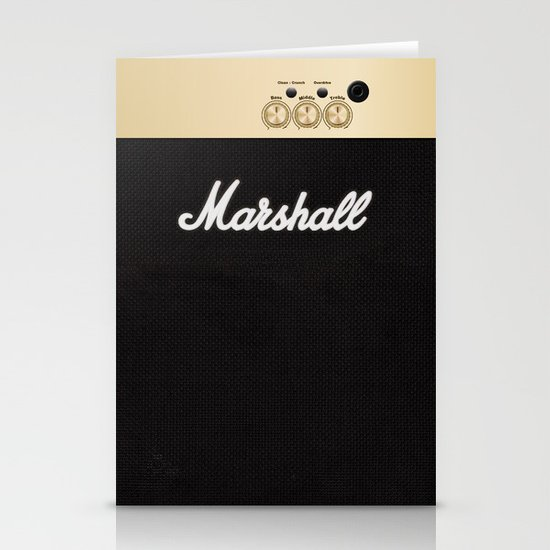 Marshall for iPhone 5 Stationery Cards