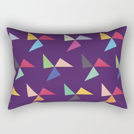 Colorful geometric pattern IV Rectangular Pillow