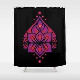Spring Yoni Shower Curtain