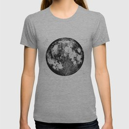 Negative Full Moon Print, by Christy Nyboer T-shirt