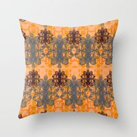 lobster Throw Pillows featuring Lobster by Amy Lou