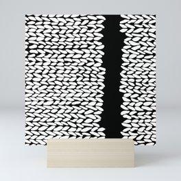 Missing Knit On Side Mini Art Print