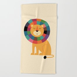 Mr. Confidence Beach Towel