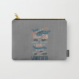 Fire & Ice & Rage Carry-All Pouch