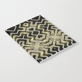 Tribal Gold Glam Notebook