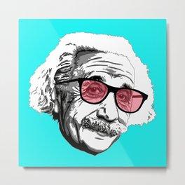 Einstein in summer Metal Print