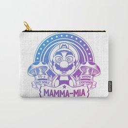 Mamma Mia Super Mario is-a Crazy Carry-All Pouch