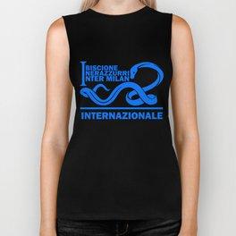 Slogan Inter Milan Biker Tank