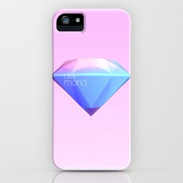 Crystallographic defects in diamond iPhone Case
