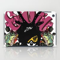 evil iPad Cases featuring EVIL by DON'T NEED NO SAMURAI