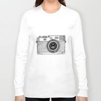 camera Long Sleeve T-shirts featuring Camera by Adam Lindfors