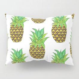 Perky pineapple Pillow Sham