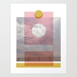 LB Collage 1 Art Print
