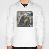 tyler the creator Hoodies featuring Tyler, The Creator of Odd Future OFWGKTA by Donta Santistevan
