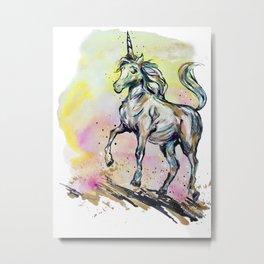 Phony Pony Metal Print