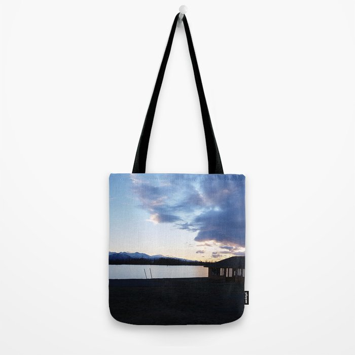 Sunset on the Shore Tote Bag