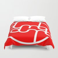 kpop Duvet Covers featuring Dumbx2 by iiahfornow