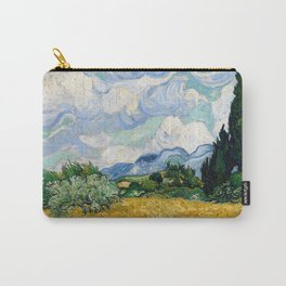 Vincent Van Gogh Wheat Field With Cypresses Carry-All Pouch