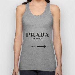 PradaMarfa sign Unisex Tank Top