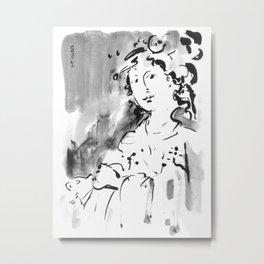 Saskia #2 Metal Print