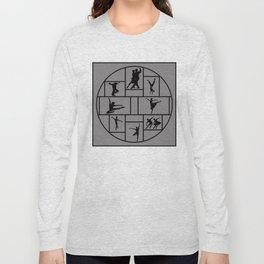 Dance Styles Long Sleeve T-shirt