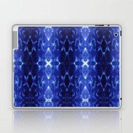 Ikat Shibori Blues Laptop & iPad Skin