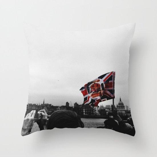 Jubilee Flag Throw Pillow