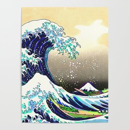 The Great Wave 3 Poster