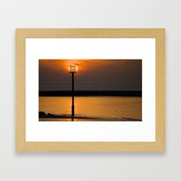 Through the Light Framed Art Print