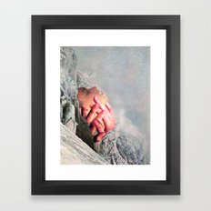 Out Of the Cold Framed Art Print