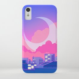 Dreamy Moon Nights iPhone Case