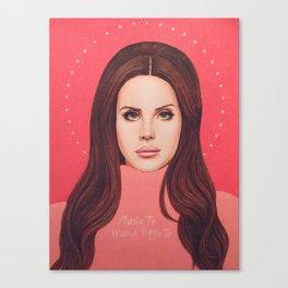 VELVETEEN Canvas Print