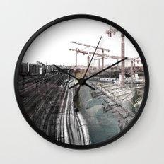 Paris d'avenir 6 Wall Clock
